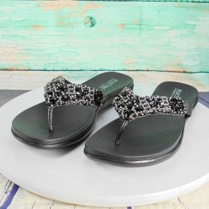 Kenneth Cole Reaction Glam-Athon Thong Sandals